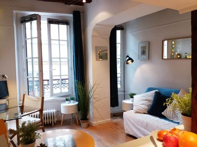 Photo for Pantheon. Very nice charming studio in the center of Paris 5th and the Latin Quarter