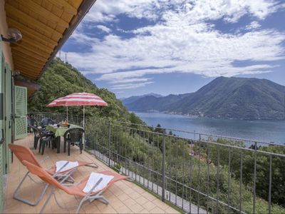 Photo for 4 bedroom apt, sleeps 12, with shared pool & panoramic lake views