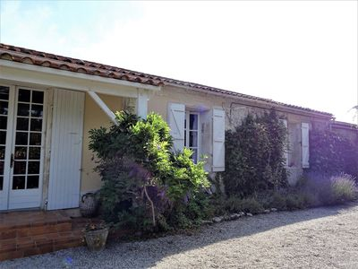 Photo for Super Villa , village location yet 15 minutes from the sea.