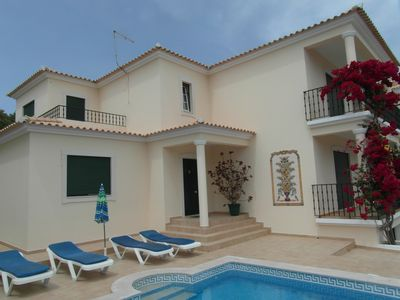 Photo for Detached 4 bedroom villa with saltwater pool