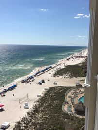 5 Star - 2 Bd/2 Bth Beach Front Private Balcony Luxury Condo
