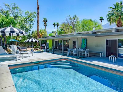 Photo for Beverly Modern: 3  BR, 2  BA House in Palm Springs, Sleeps 6