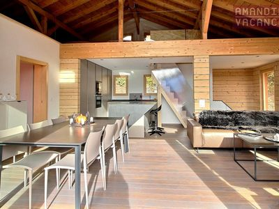 Photo for Gorgeous Chalet l'Eden fully renovated close to the baths