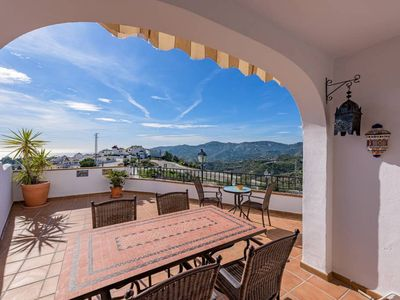 Photo for Frigiliana · Mountain and sea views with large terrace and pool