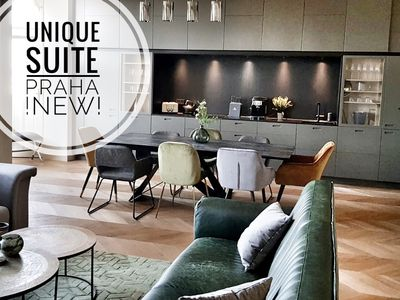 NEW! UNIQUE SUITE * river view, next to dancing house *