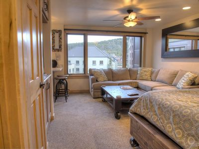 Photo for Ski In/Out Mountain View Colorado Suite @ Peak 9 - Contact Free Check In