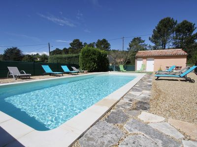 Photo for Haven of peace in nature, Lavandin cottage, heated pool