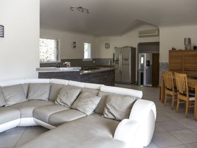 Photo for Comfortable villa 2 km from the beach of palombaggia