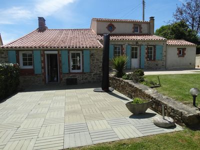Photo for Villa with pool in the heart of the Vendée, 2 steps from the golf de la Domangère