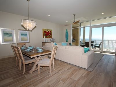 Photo for Vista Del Mar 707- Luxury Condo w/ Large Terrace + Amazing Interior