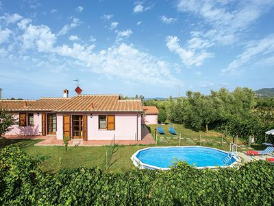 Photo for Beautiful villa surrounded by olive trees, equipped with pool, barbecue and Wi-Fi