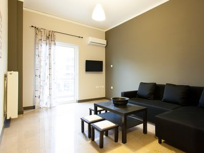 Photo for New 2 bdr Apartment in Athens close to metro