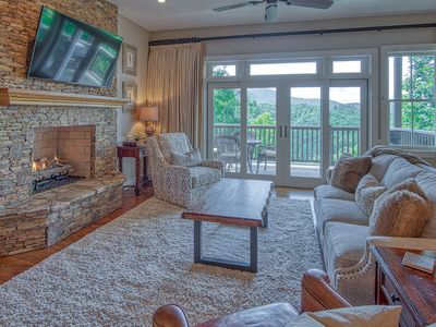 Photo for Mountain Views, Exceptional Outdoor Living Space, Gated Community