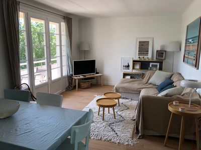 Photo for Calm, Cozy, bright, near the lighthouse and the Biarritz golf course