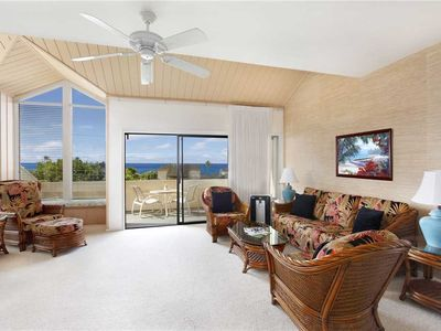 "Photo for Poipu Unbeatable Sunsets from the Private Lanai ""A/C Master & Guest Bedroom"" *Manualoha 505*"