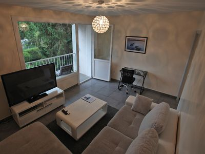 Photo for Le Semnoz, 2 bright bedroom with balcony close to the lake