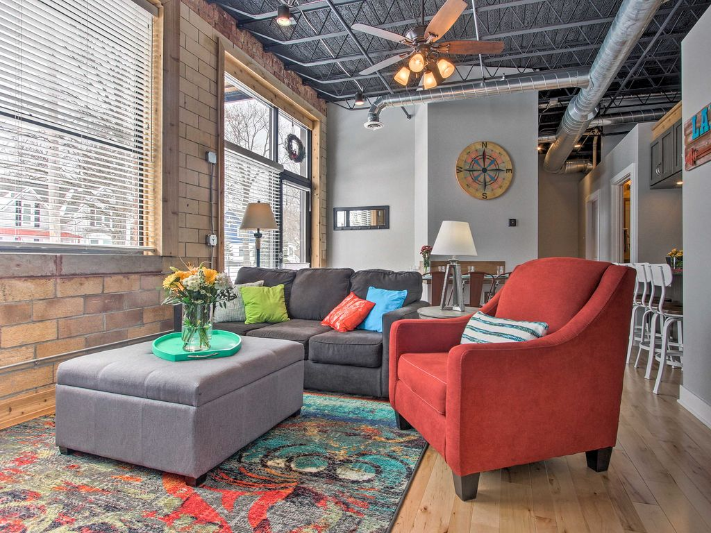 Loft Style Condo 4 Blocks Vom Lake Michigan