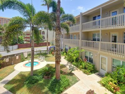 Photo for Dog-friendly condo near the beach with shared pool and hot tub!