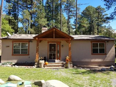 Photo for RUIDOSO CABIN (HIDDEN GEM) 3 BEDROOMS 2 FULL BATHS (YOU WILL LOVE IT!)