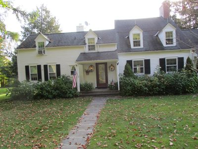 Photo for 5 Br Cooperstown Family Home: 9 Acres, Patio, & Grill. 4200 Sq ft w/ lake view