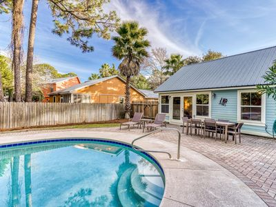 Photo for NEW LISTING: Private Pool, 3 Blocks to the Beach, Close to Seaside