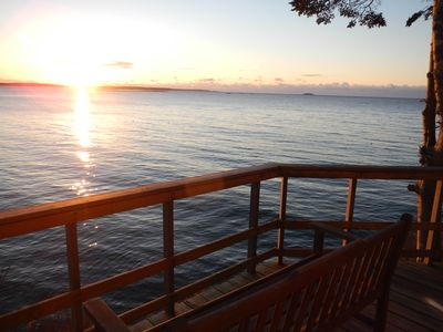 Photo for Spectacular sunrises await you at Sea Wood (Great Island, Harpswell, ME)