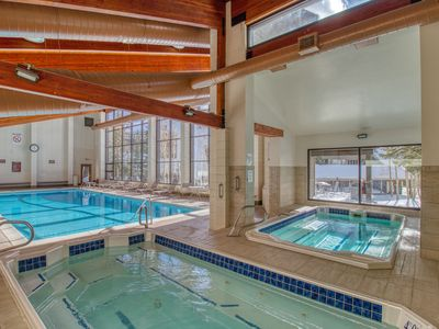 Photo for Woodland condo w/mountain view, shared pool/hot tub & bus to lifts