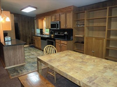 Photo for Large Lakefront--Hot Tub, Pool Table, WIFI, Firepit, Boats--