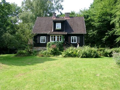 Photo for Stunning house in best location w/large garden, private stream, by forest