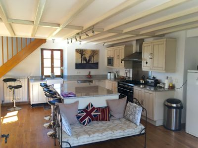 Photo for Farmhouse With Private Heated Pool & Extensive Views Over Countryside.