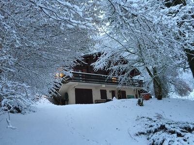 Photo for Independent chalet on 3 levels (8 people: 6 adults + 2 children)