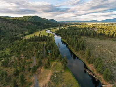 Photo for Crater Lake and Log Home on the Williamson River------Lonesome Duck Ranch