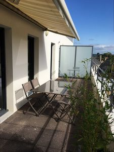 Photo for Beautiful fully renovated apartment for 5 people in the center of PERROS-GUIREC
