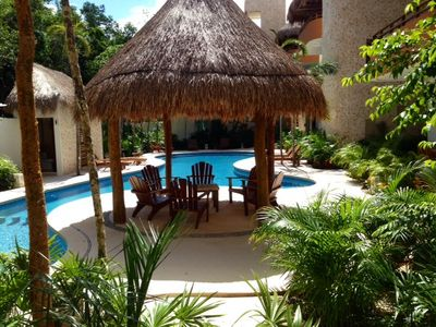 Photo for 'royal Zamá' Tulum Luxury Vacation Rental New Condo, Only 5 Minutes to Beach!