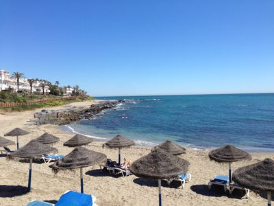 Photo for Fabulous 1 bed apartment, wonderful sea views Costa del Sol