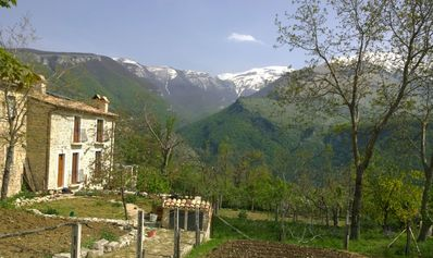 Photo for Belvedere - charming home with the most beautiful mountain views in Abruzzo