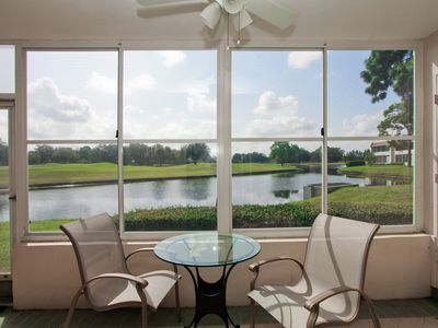 Photo for Charming 1BR/1.5BA condo in the desirable community of Palm Aire!Sarasota 54