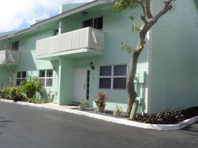 Photo for REDUCED FOR REMAINDER OF MARCH AND APRIL BEAUTIFUL TOWNHOUSE 400' FROM BEACH