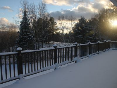 Photo for Excellent location central to mountain/town/golf, Mtn views & Hot Tub! Sleeps 12