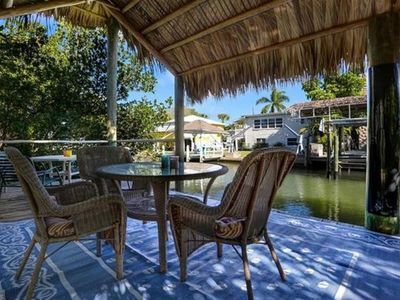 Photo for Strawberry Fields - 2BR Close to Beach on Canal with Pool and Hot Tub