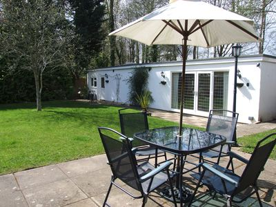 Photo for Lodge With Private Garden In Country Village - Pets And Babies Welcome