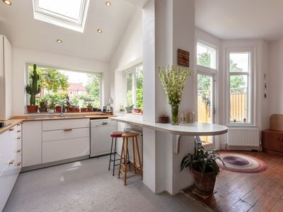 Photo for Bright 3BR with garden near Alexandra Palace, easy way to King's Cross, by Veeve