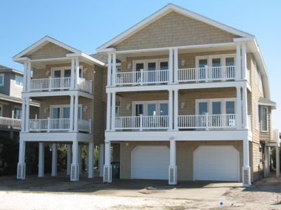 Photo for THE BEST in OIB Ocean Front Canal Front  Large Pool/Hot tub  Beautiful Views !!!