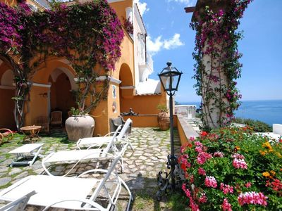 Photo for 6 bedroom Villa, sleeps 11 with Air Con, FREE WiFi and Walk to Beach & Shops