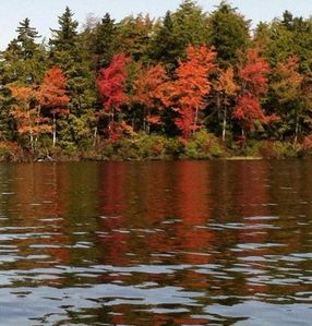 Log Cabin Lake Escape ~ Autumn on Highland Lake