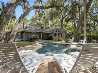 Photo for 4 bedroom, 4 bath home in North Forest Beach with Private Pool!