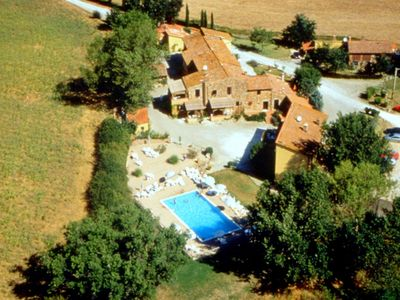 Photo for Surrounded by the beautiful, sloping Tuscan landscape