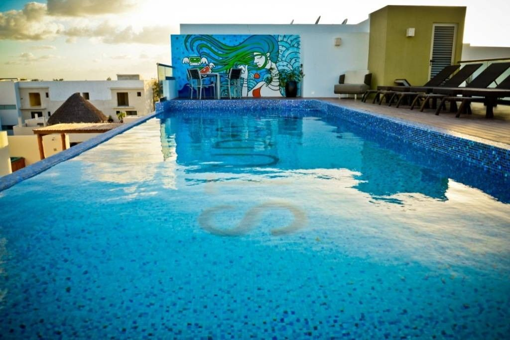Apartment 324 m from the center of Playa del Carmen with Internet, Pool, Air conditioning, Lift (689399)
