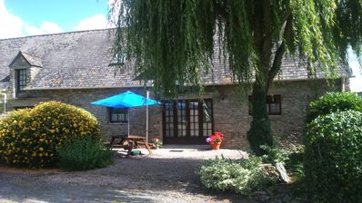 Photo for Converted Farmhouse, Gite (3) In Private Rural Location, Overlooking Countryside