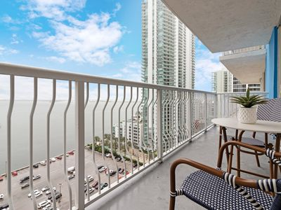 Photo for The Club at Brickell Bay Condo--15 minutes to South Beach